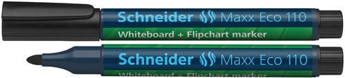 Schneider whiteboard + flipchart marker Maxx Eco110 zwart