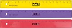 M+R lat, uit plastic, in geassorteerde kleuren, 20 cm
