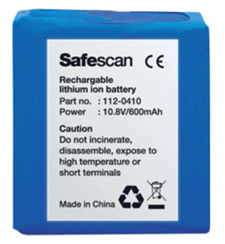 Safescan oplaadbare batterij LB-105, voor valsgelddetector 155-165