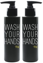 """Office Deco transfer S """"Wash hands"""""""