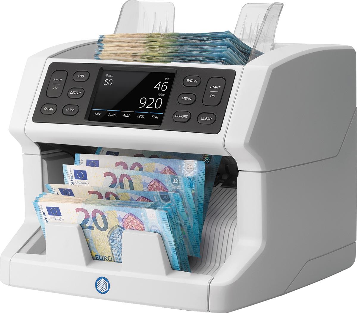 Safescan biljettelmachine 2850, met 3-voudige detectie