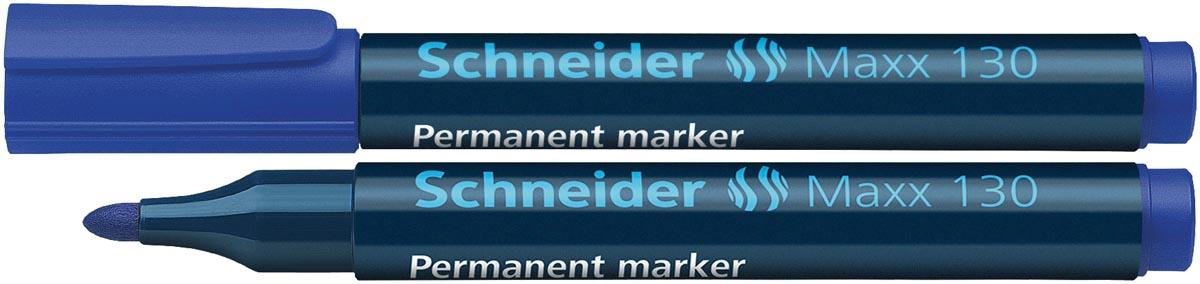 Schneider permanent marker Maxx 130 blauw