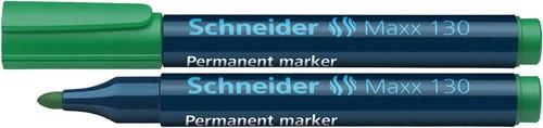 Schneider permanent marker Maxx 130 groen