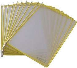 Tarifold tas t-display geel