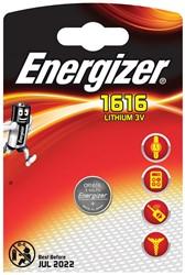 Energizer knoopcel CR1616, op blister