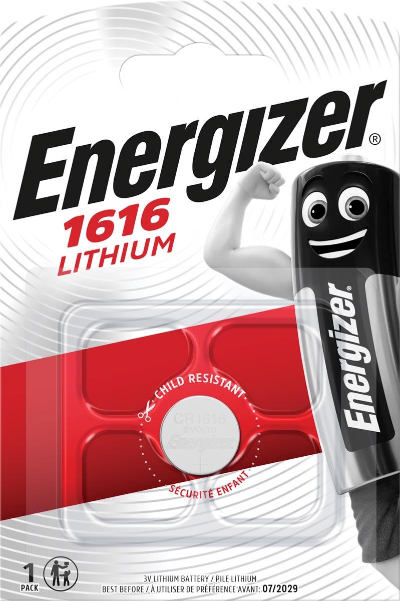 Energizer Knoopcel CR 1616 Lithium 55 mAh 3 V 1 stuks