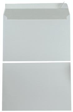 Enveloppen ft162x229mm met stripsluiting wit doos 500 st