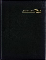 Brepols Ambassador Lima, zwart, 2020