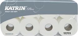 Katrin toiletpapier Soft Plus, 3-laags, 250 vel per rol, pak van 8 rollen