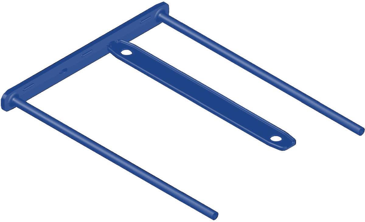 Bankers Box archiefbinder D-Clip blauw, doos van 100 stuks