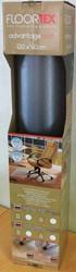 Floortex vloermat Advantagemat, voor tapijt, op rol, ft 120 x 90 cm, met uitsparing