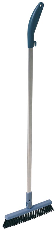 Vileda borstel Dustpan, met aluminium steel
