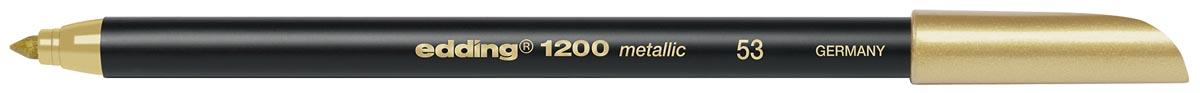 Edding viltstift e-1200 metallic goud
