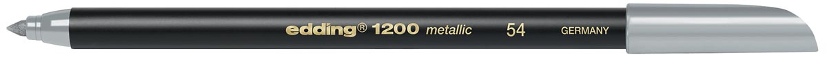 Edding viltstift e-1200 metallic zilver
