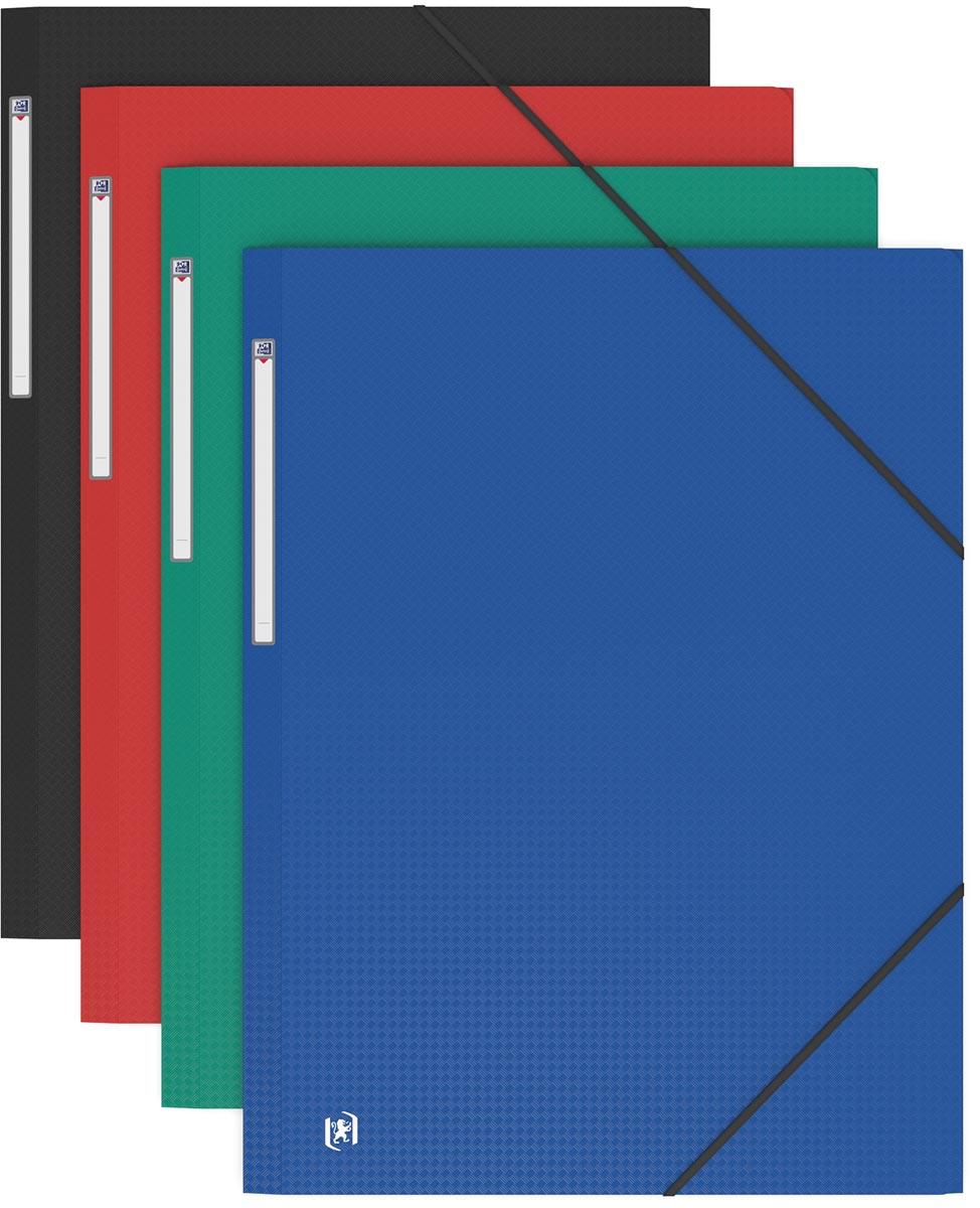 OXFORD Memphis elastomap, formaat A3, uit PP, geassorteerde kleuren