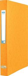 Elba Eurofolio ringmap uit karton, voor ft A4, 2 ringen, geel