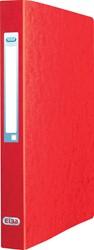 Elba Eurofolio ringmap uit karton, voor ft A4, 2 ringen, rood