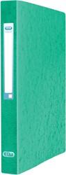 Elba Eurofolio ringmap uit karton, voor ft A4, 2 ringen, groen