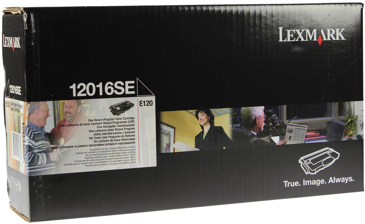 Lexmark Toner Kit return program - 2000 pagina's - 12016SE