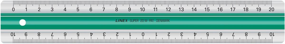 Linex liniaal 20 cm