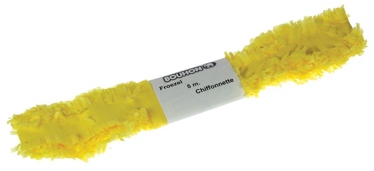 Bouhon froezelpapier geel