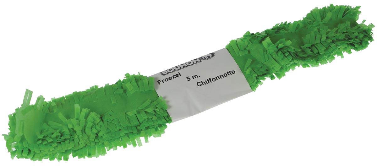 Bouhon froezelpapier lichtgroen