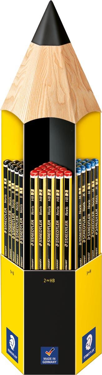 Staedtler Noris 120 hoog kwalitatief potlood, display van 90 grafietpotloden