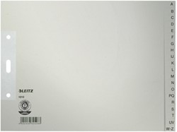 Leitz tabbladen A4 AZ index grijs