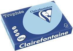 Clairefontaine Trophée Pastel A4 blauw, 120 g, 250 vel