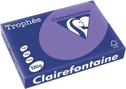 Clairefontaine Trophée Intens A4 violet, 120 g, 250 vel
