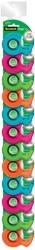 Scotch plakbandafroller Cool Colors, 2 clipstrips met elk 12 afrollers, geassorteerde kleuren