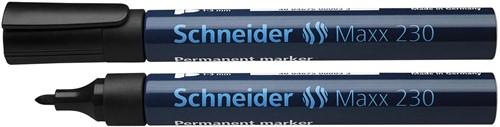 Schneider permanent marker Maxx 230 zwart