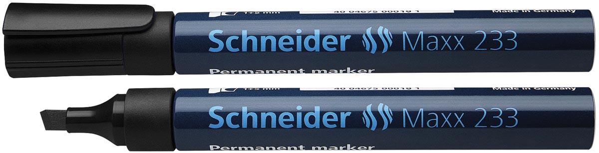 Schneider permanent marker Maxx 233, zwart