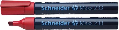 Schneider permanent marker Maxx 233, rood