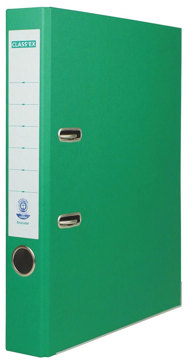Class'ex ordner Eco, rug van 5 cm, groen