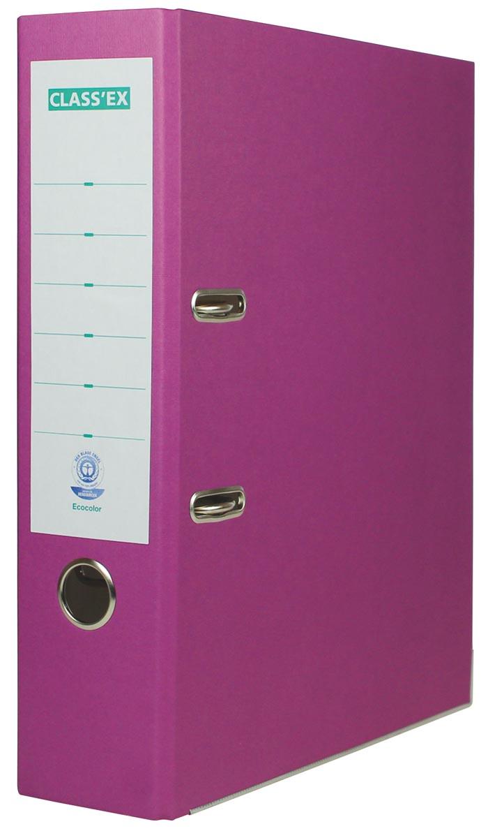 Class'ex ordner Eco, rug van 8 cm, violet