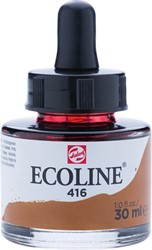 Talens Ecoline waterverf flacon van 30 ml, sepia