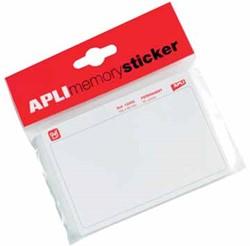 Apli Memory sticker wit