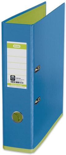 Elba ordner MyColour ft A4, rug van 8 cm, blauw/groen