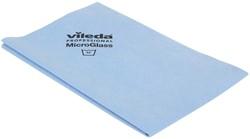 Vileda microvezeldoek MicroGlass, blauw, pak van 3 stuks