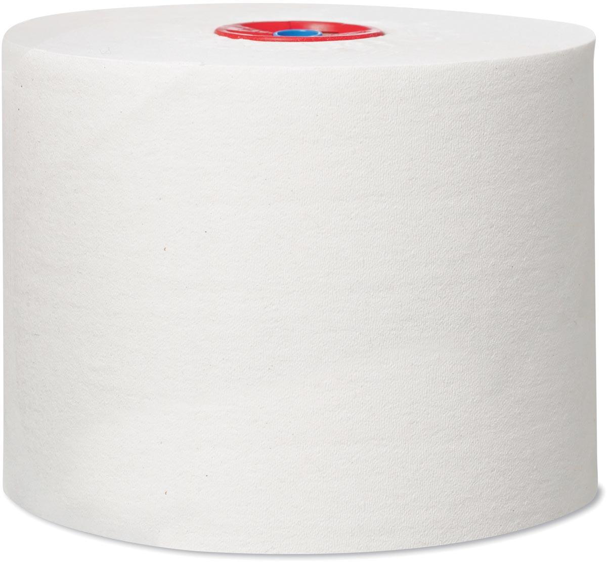 Tork toiletpapier Mid-Size, 1-laags, 135 meter, systeem T6, pak van 27 rollen