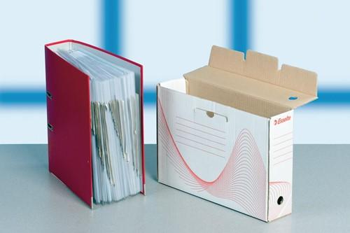 Esselte archiefdoos Boxy rug van 8 cm-2