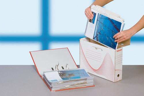 Esselte archiefdoos Boxy rug van 8 cm-3