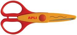 Apli Kids hobbyschaar golvend 13 cm, op blister