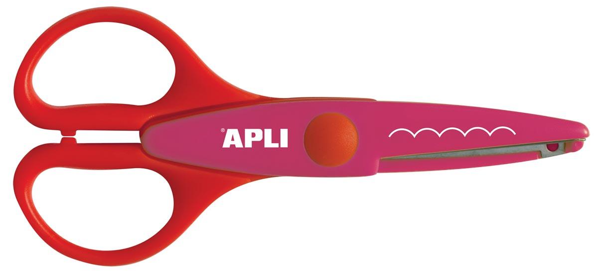 Apli Kids hobbyschaar zaagtand, 13 cm, op blister