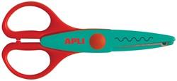 Apli Kids hobbyschaar gebogen 13 cm, op blister
