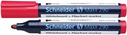 Schneider Whiteboardmarker 290 rood