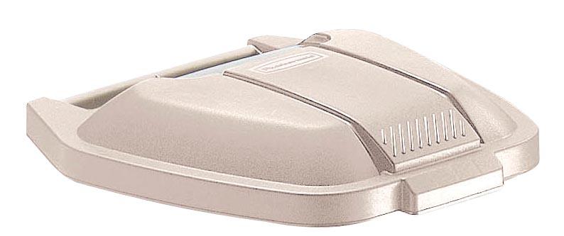 Rubbermaid deksel voor mobiele afvalcontainer Basis, beige