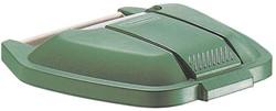 Rubbermaid deksel voor mobiele afvalcontainer Basis, groen