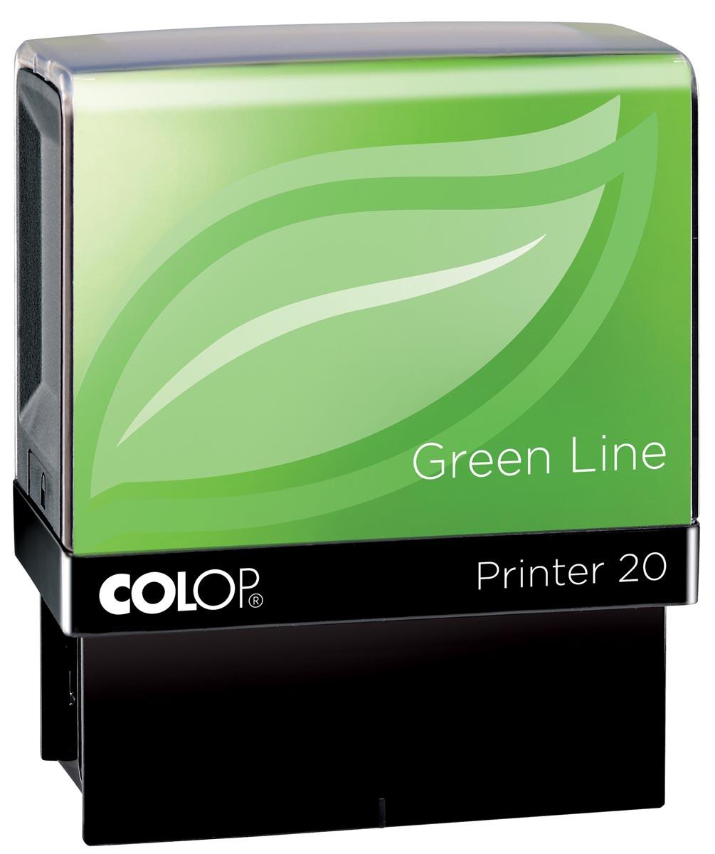 Colop Colop stempel Green Line Printer Printer 20, max. 4 regels, voor Belgi (129830)